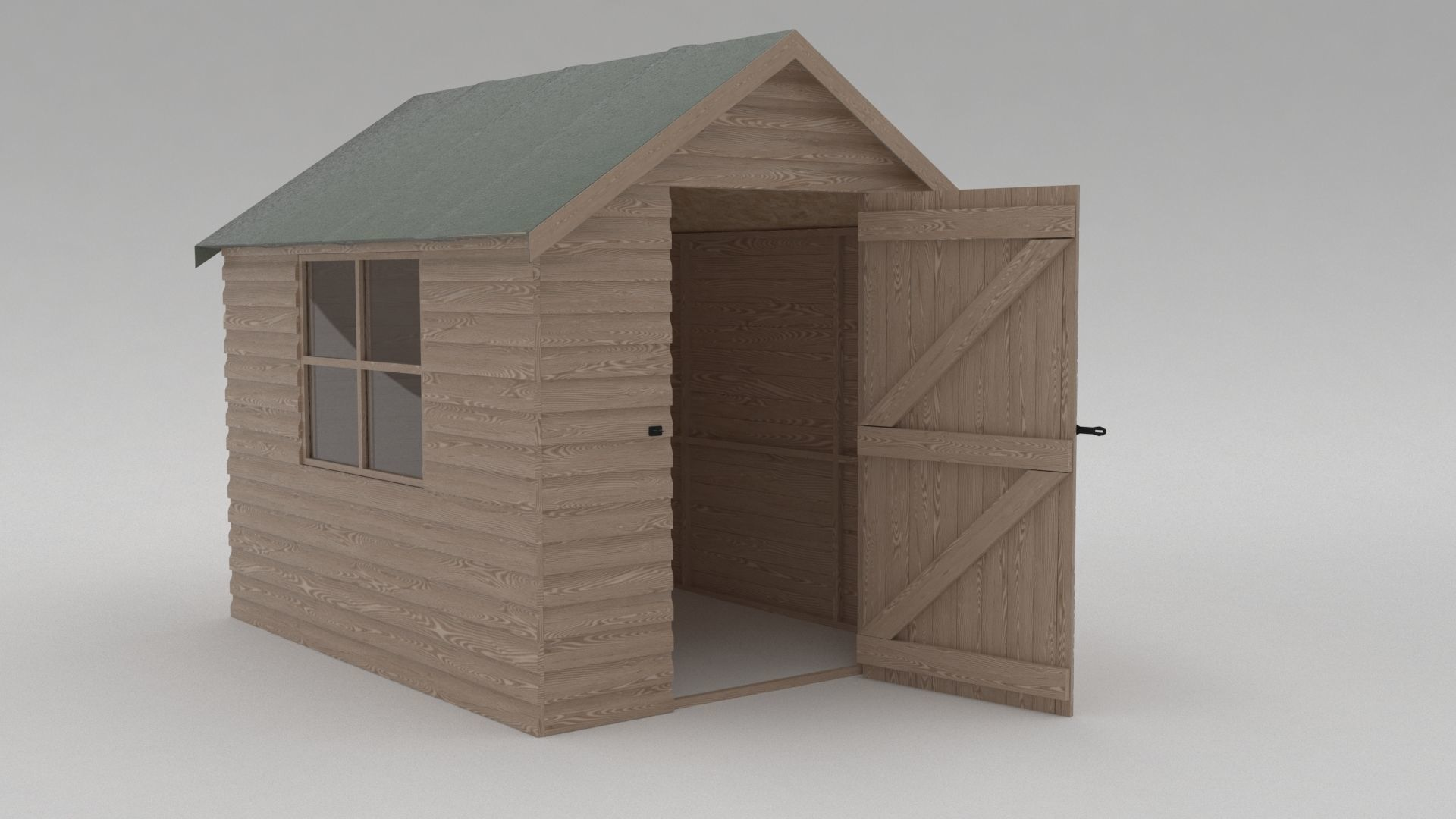 Domestic Garden Shed