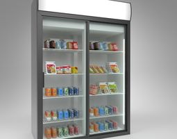 POLAIR cold store DM110SD-S Blender Cycles 3D model