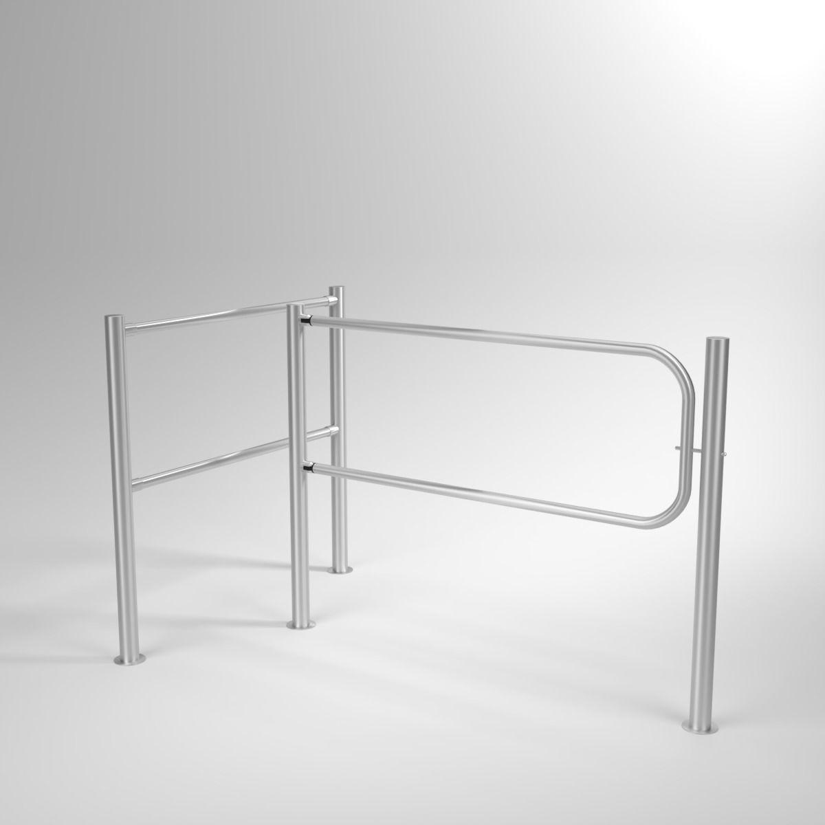 Swing Gates Blender Cycles | 3D model