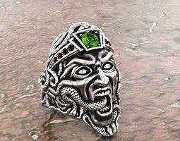 Ring Gorgon 3D printable model