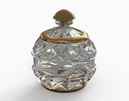Bottle for perfumery 3D