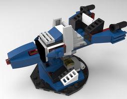 LEGO Tower Defense 1 3D model