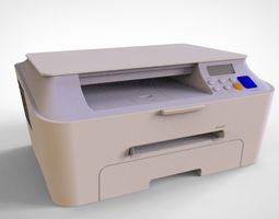 printer 3d model ink