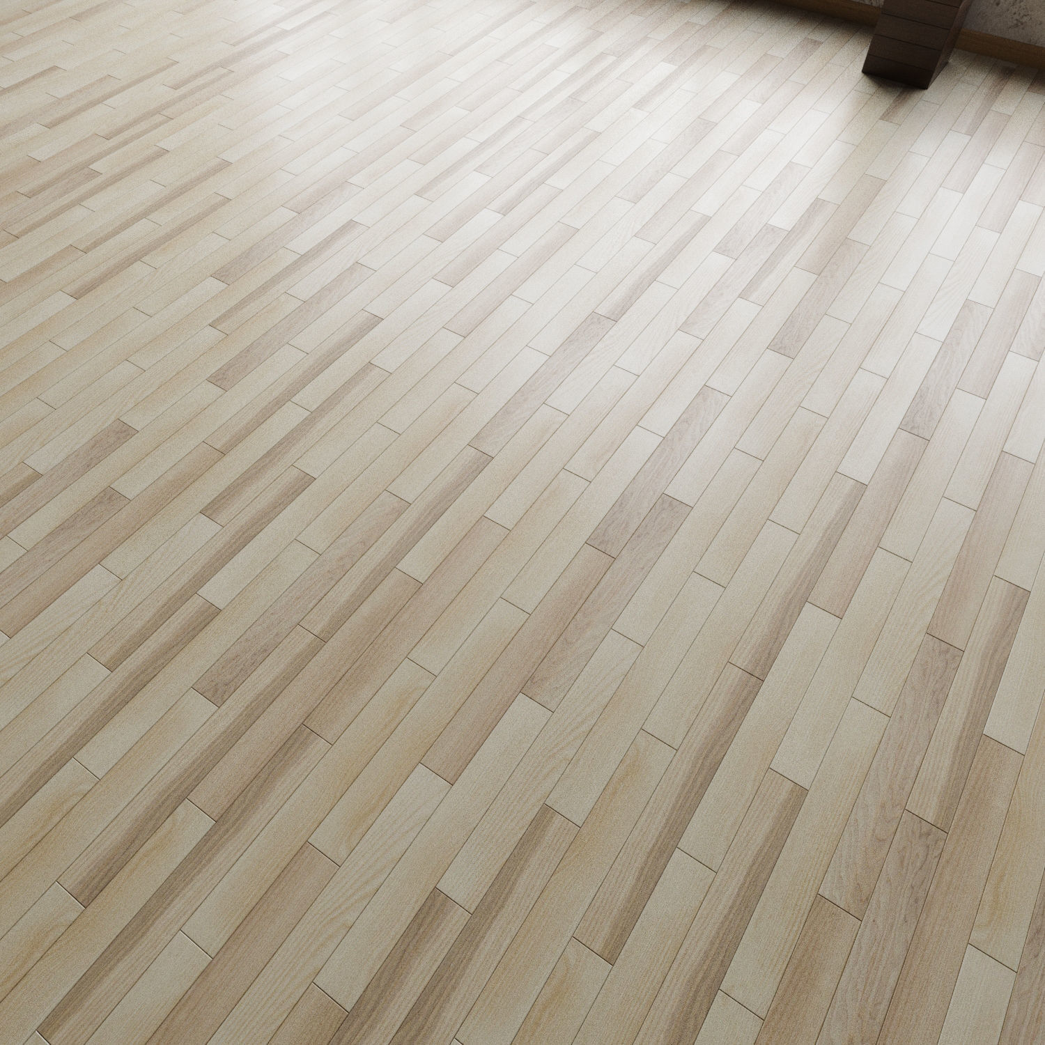 Flooring Wood 22 3D Model Max Obj Fbx Mtl 4