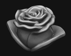 Rose Bloom beuty 3D print model