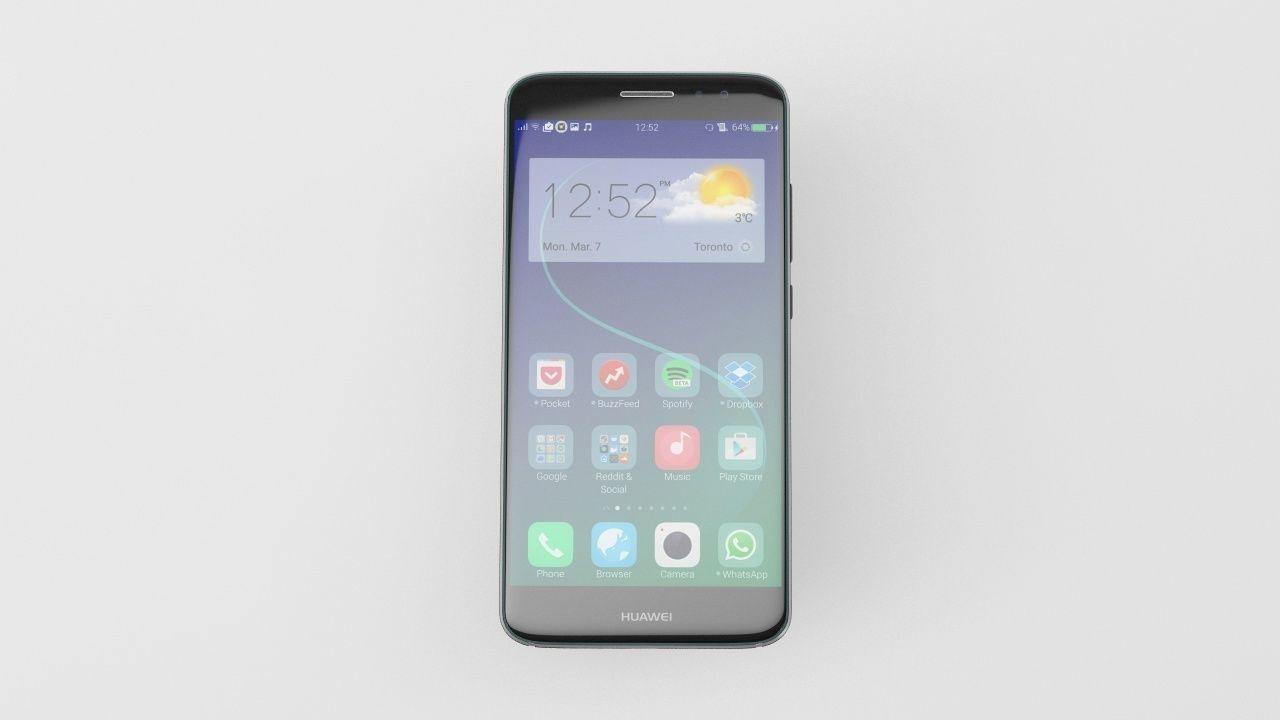 Huawei Nova Plus - Element 3D | 3D model
