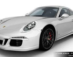 3D model Porsche 911 Carrera GTS 2015