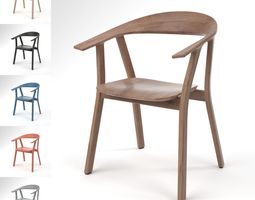 3D model Prostoria Rhomb Chair Blender Cycles