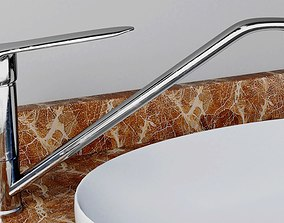 Faucet Water tap with imperfections 3D model photorealism