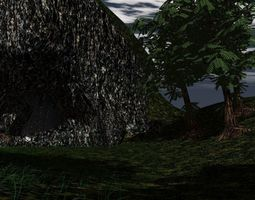 3D asset The Cave Scene