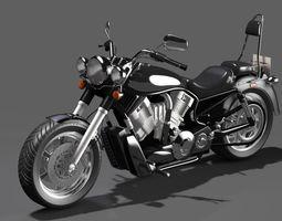 3D model motorcycle Sport Bike Generic