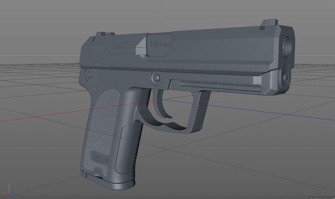uk ups 3d model fbx 1
