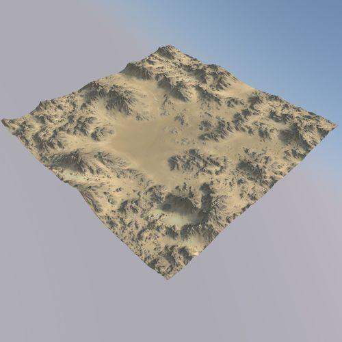 desert mth077 3d model max obj mtl 3ds fbx c4d blend 1