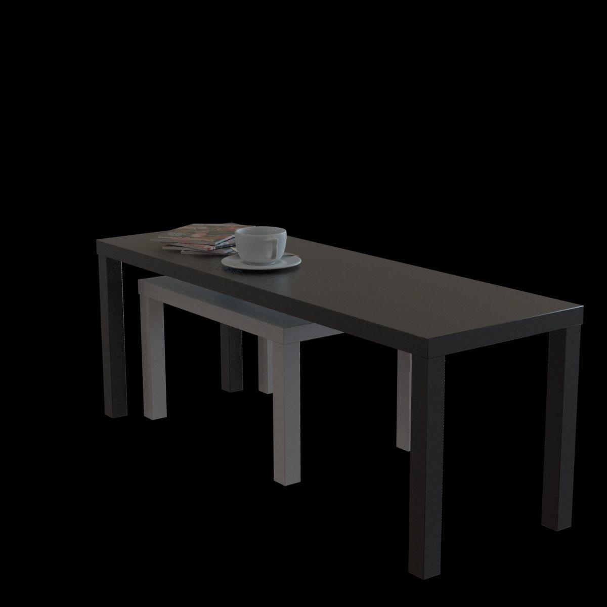 022ce72c9895 3D IKEA lack nesting table ikea