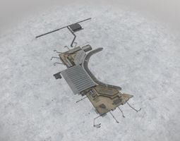 LHBP Terminal 2 3D model