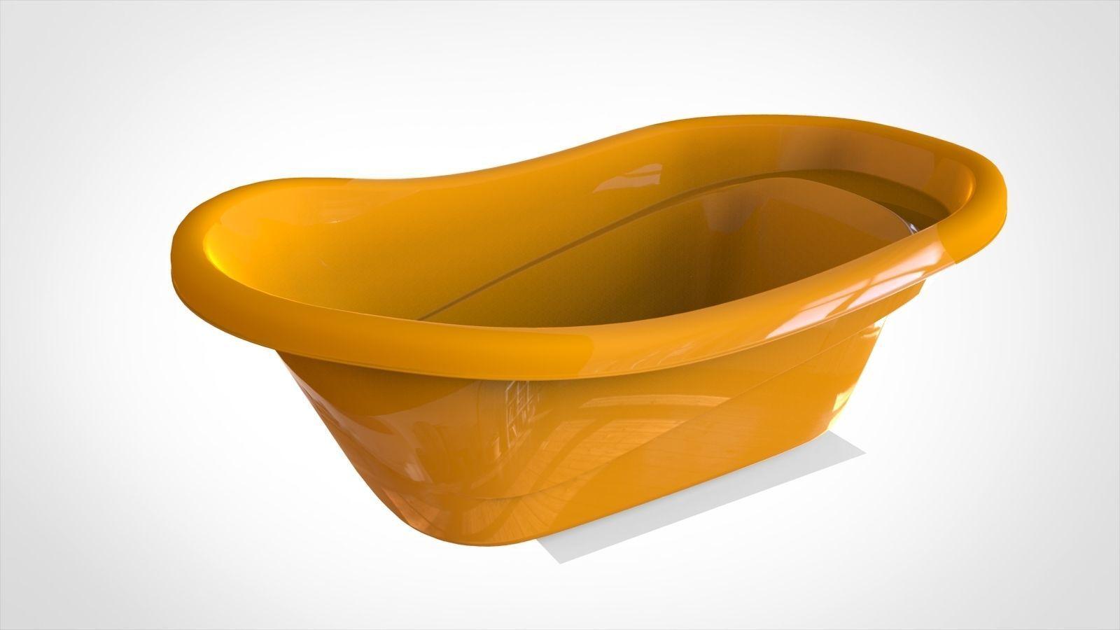 Baby bathtub 3D | CGTrader