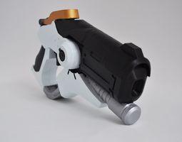 3D print model Overwatch Mercy Caduceus blaster prop