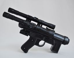 3D printable model Star Wars SE-14C blaster