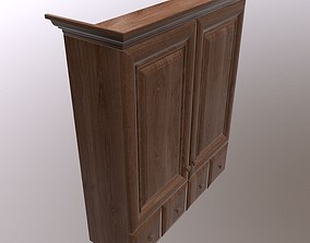 3D asset low-poly unreal Cabinet