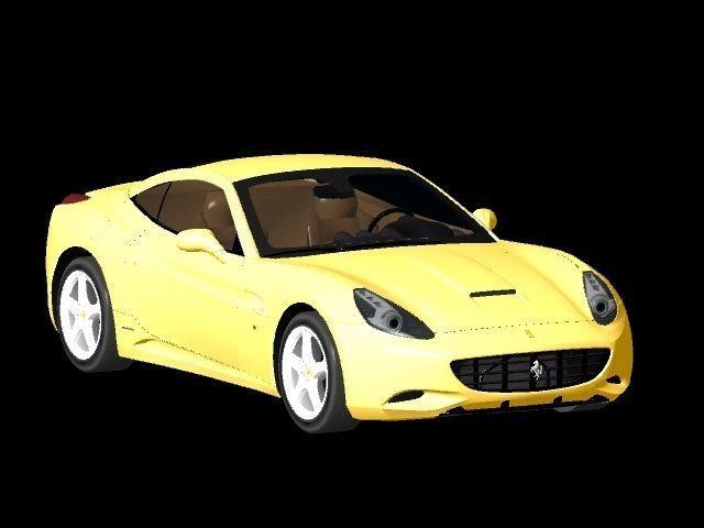 Ferrari California 3D model | CGTrader