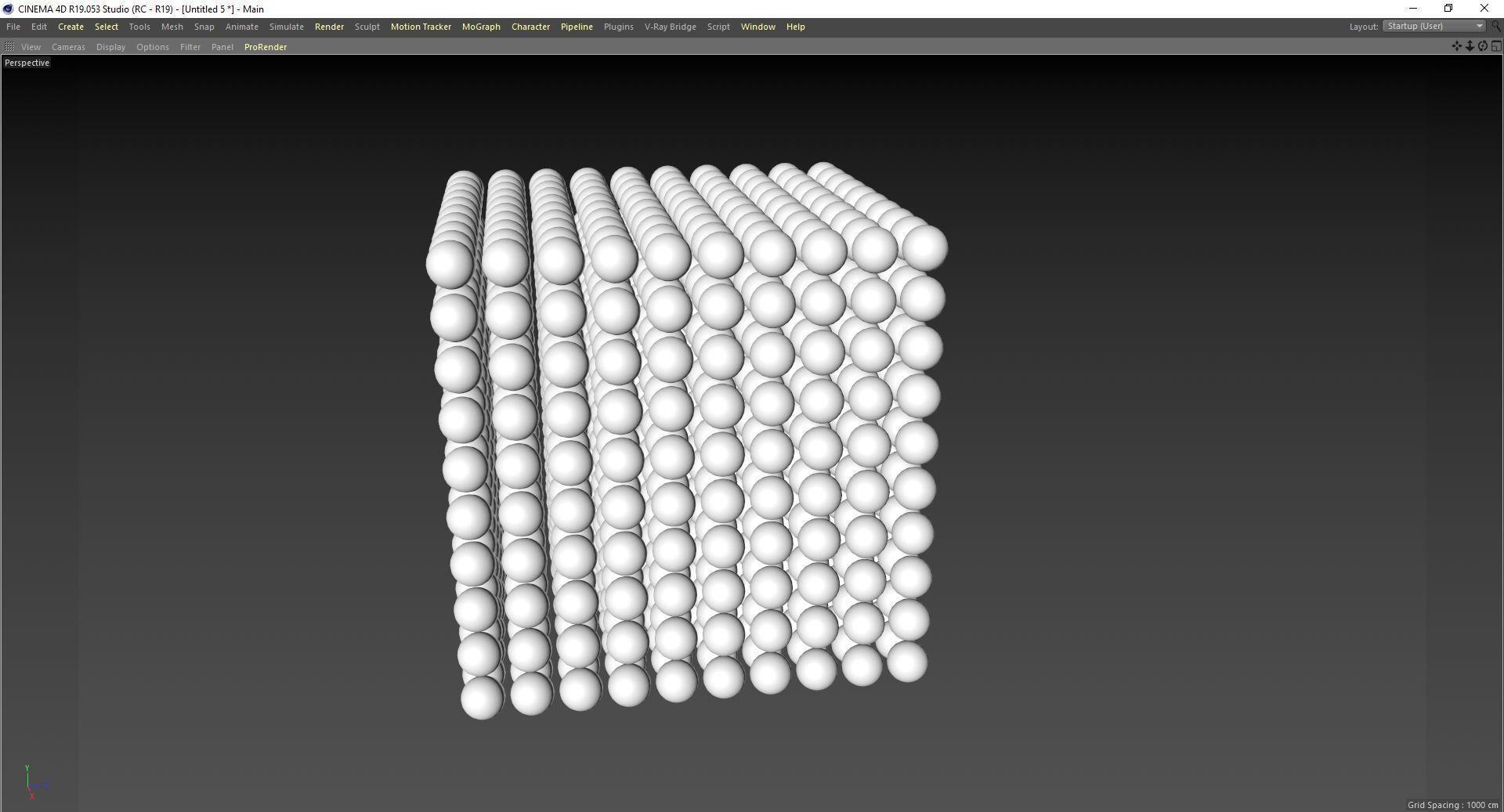 Random color flicker cinema 4d effect 3D model | CGTrader