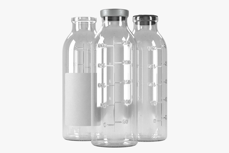 saline bottle 250ml