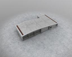 3D model EGCC Fire Station2