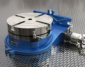 Manual Rotary Table 3D