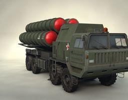 S-400 Missle System 3D