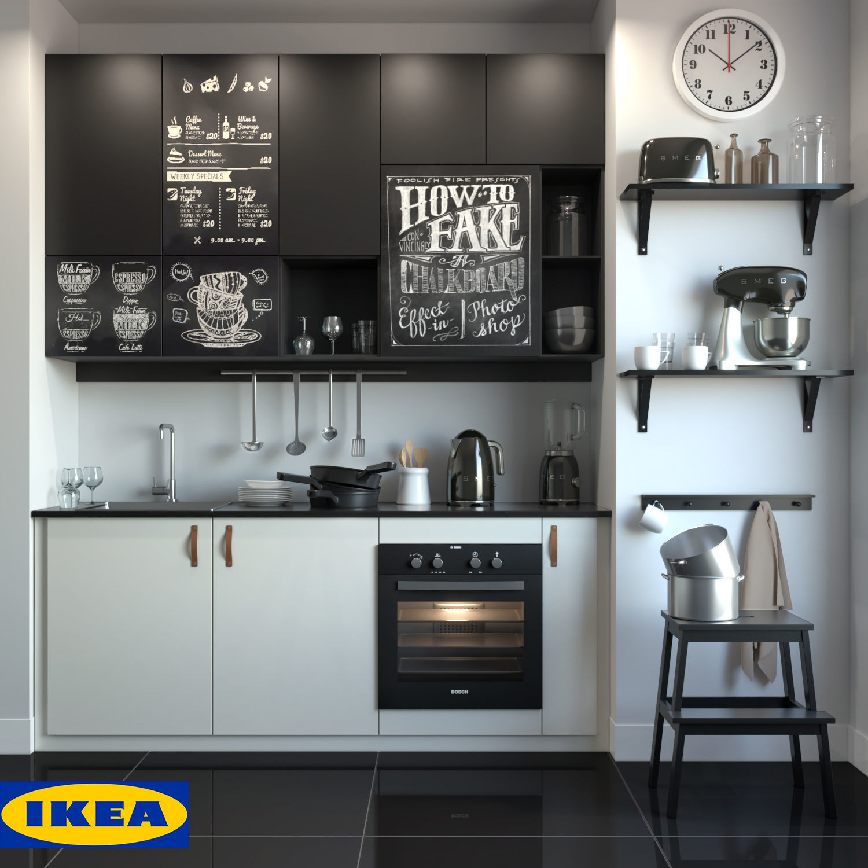 Kitchen IKEA | 3D model