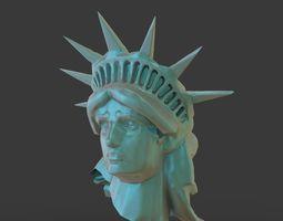 3D model Statue Of Liberty Head