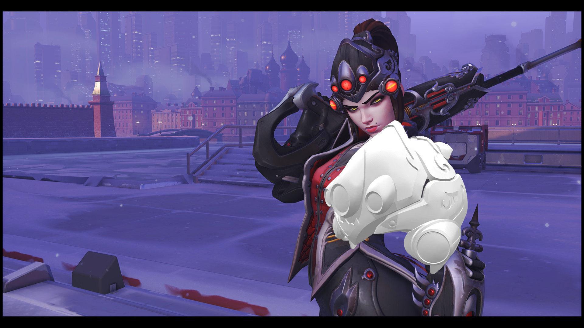 Overwatch Widowmaker Cosplay - Huntress Helmet