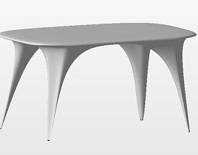 Organic Table 3D printable model