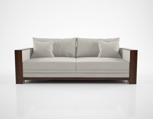 Hughes Chevalier Charleston Sofa Model Max Obj Mtl Fbx 1