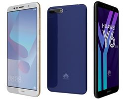 3D Huawei Y6 2018 All Colors