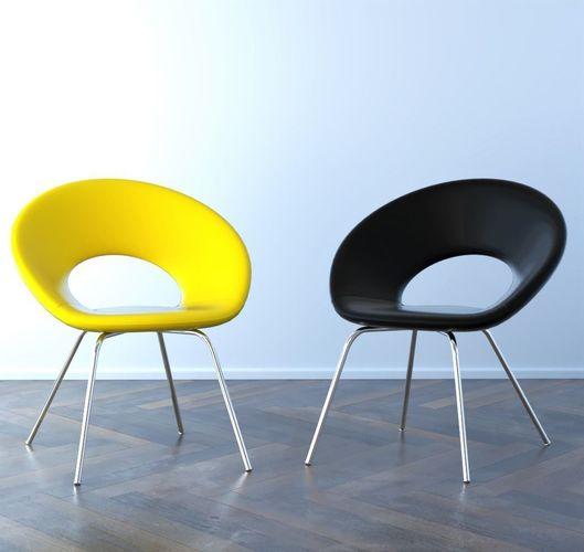 Eero Saarinen Ring Chair 3D Model