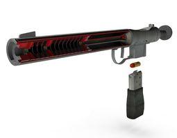 WelRod superb suppressor single shot pistol for 3D model