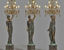 fixture 3D model Badari art lightning