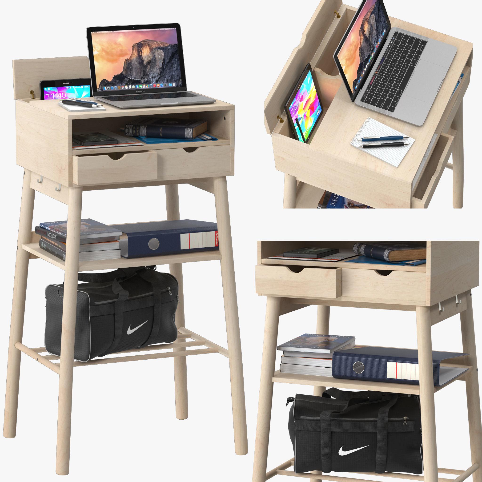 Ikea Knotten Standing Desks 3d Cgtrader