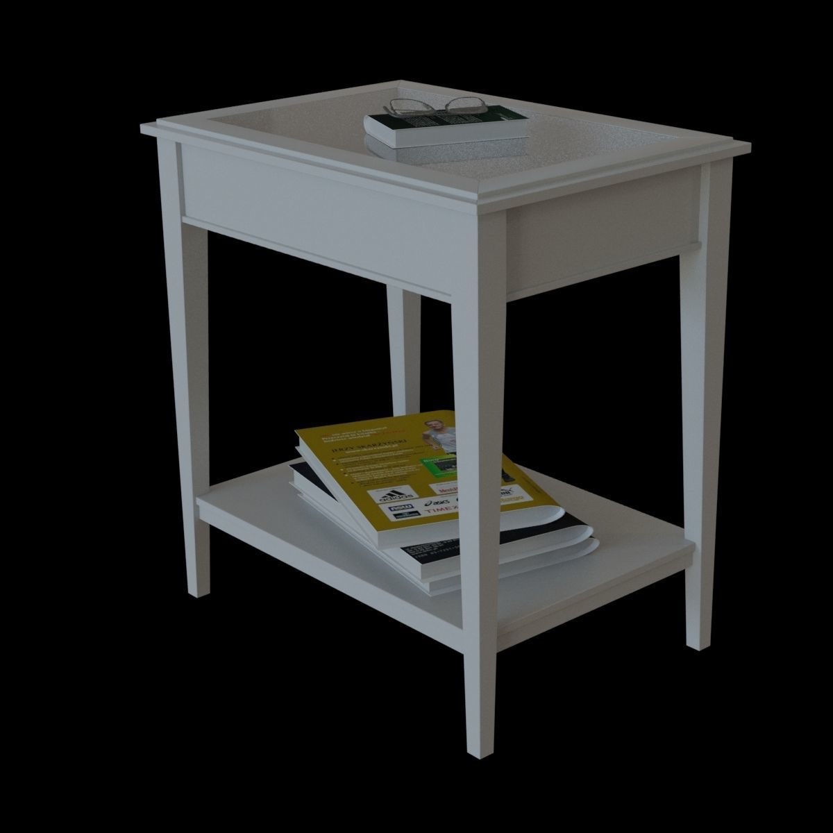 Liatorp Side Table.Ikea Liatorp Side Table 3d Model