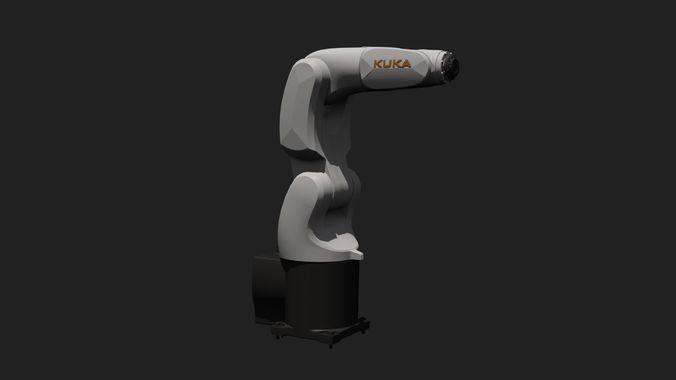 kuka kr 3 agilus 3d print compatible 3d model max obj mtl fbx c4d stl 1