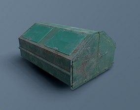 Waste Dumpster 3D asset
