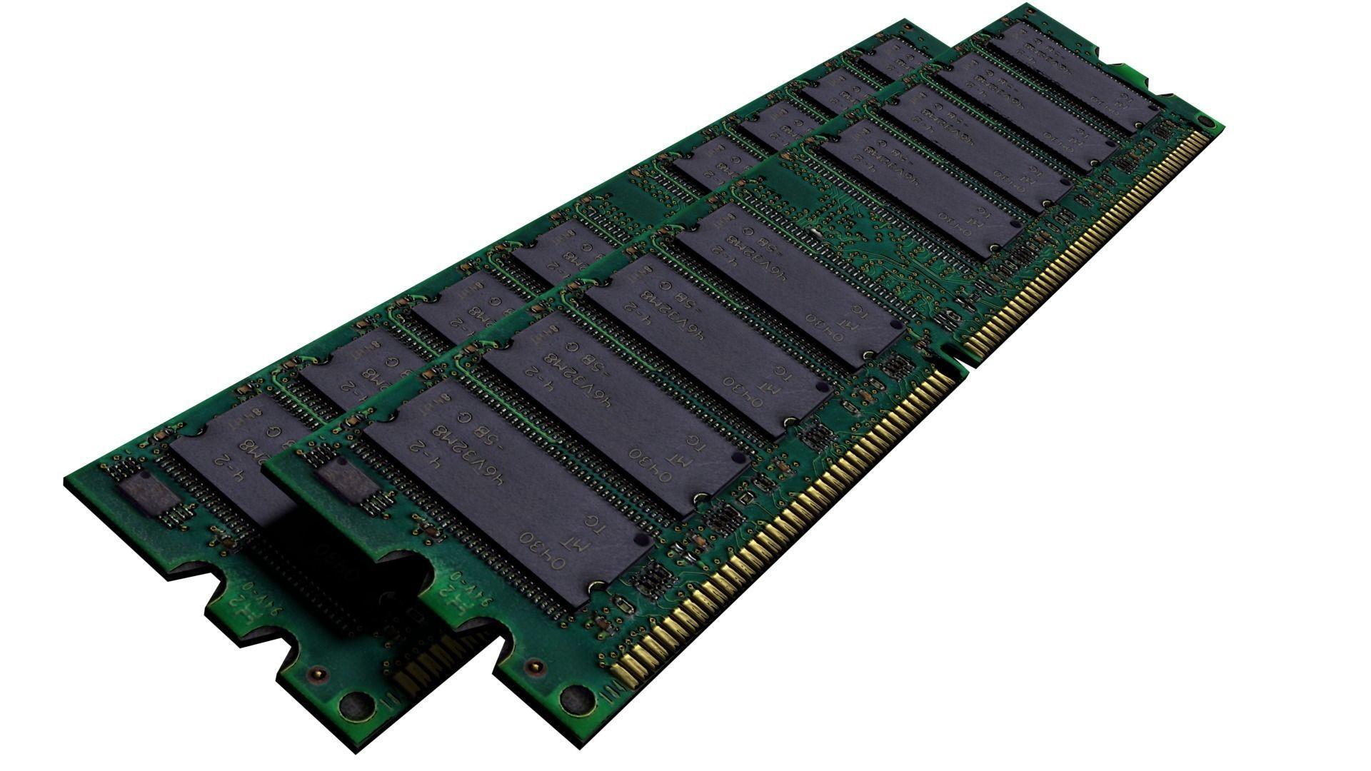 Ram Memory Card Computer Part Tech Machine Storage Data Sci Fi