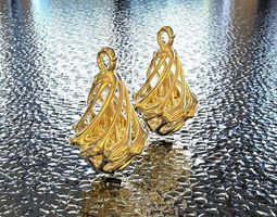 BRO EARRING art 3D printable model