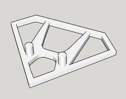 3D print model Honda front emblem