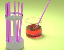 3D printable model STRAW HOLDER