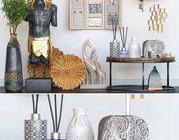 Decorative set Egypt 3D