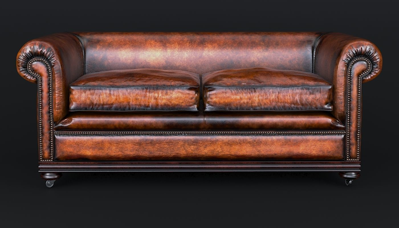 Classic Chesterfield Sofa Charles Churchill | 3D model