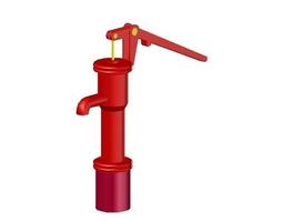 water hand pump 3d