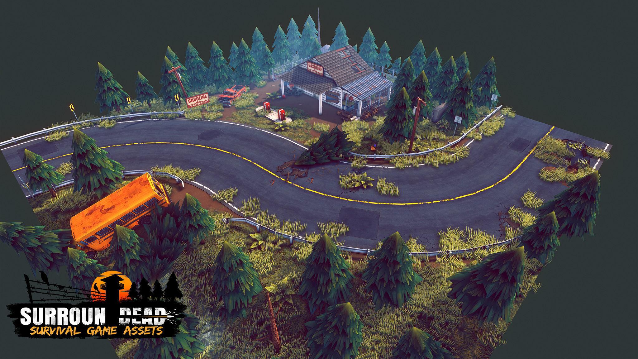 SurrounDead - Survival Game Assets